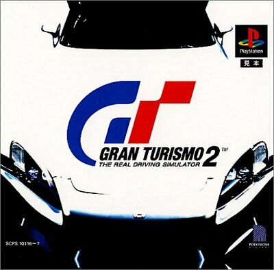 USED PS1 PS PlayStation 1 ​​Gran Turismo 2