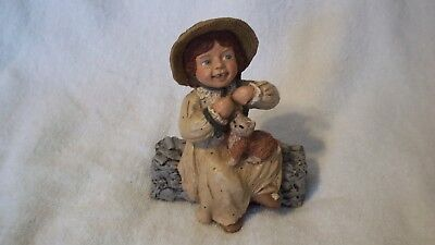 "1987 Martha Holcombe - All God's Children ""Kelli""   #4 Figurine"