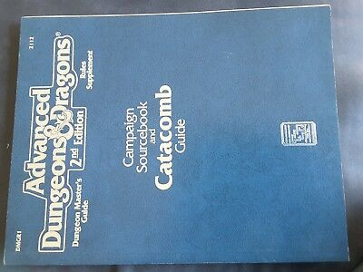 ad&d catacomb campaign sourcebook