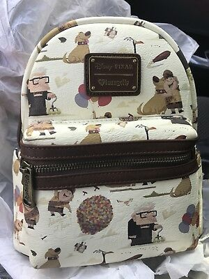 Disney Loungefly Exclusive Mini Back Pack - Pixar Up