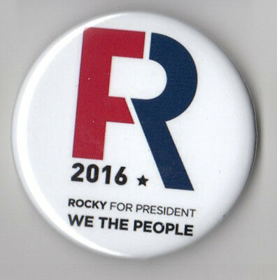 Rocky De La Fuente campaign button pin Reform Party Independent 2016