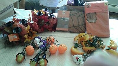 Halloween lights and more lot