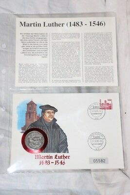 Numis Brief - Maretin Luther - Eisenach 1990