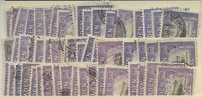 Aden Collection of 50+ copies of Dhow Building ship Stamp 1sh Stamps of 1953