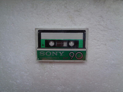 Vintage Audio Cassette SONY BHF 90 From 1982 - Fantastic Condition !!