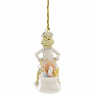 Lenox Grinch Steals the Who's Feast New for 2018 Ornament