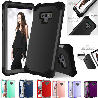 Heavy Duty Shockproof Hybrid Armor Case Rugged Cover for Samsung S9 Plus Note 9