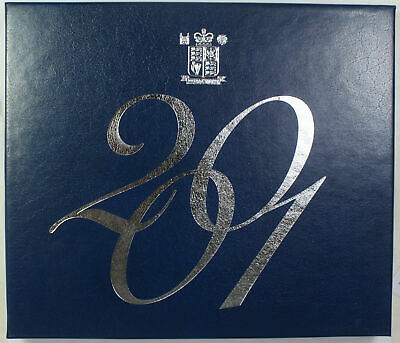 2001 Royal Mint Blue Box United Kingdom Proof Coin Collection 10 Coin Set no COA