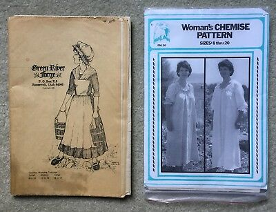 Green River Forge Country Woman's Dress + Eagle's View Chemise Patterns Costume