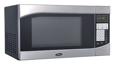 Oster - .9-Cubic Foot Digital Microwave Oven Black w/Stainless Door OGH6901 SD