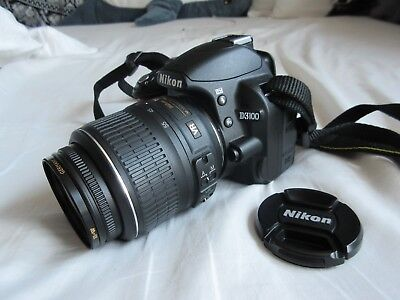 Nikon D D3100 14.2MP Digital SLR Camera - Black