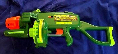 Buzz Bee Toys Motorized Automatic Tommy 20 Nerf gun Batteries Included