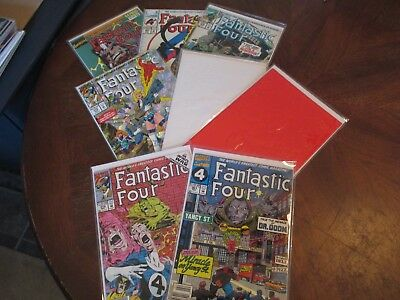 Fantastic Four Lot Of 8 Higher Grades! Flat Rate Ship! Vf-Nm!