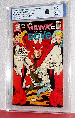 The HAWK and the DOVE Vol. 1 #2, 1968, DC, RSG Graded 8.0 Midwest Comic Grading