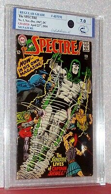 The SPECTRE #1, 1967, DC, Graded by Midwest Comic Grading @ 7.0, #415191