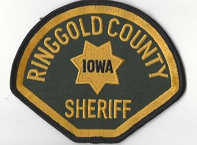 Ringgold County IA Iowa Sheriff patch - NEW! *Cloth Back*