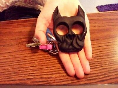 Brutus Self Defense Keychain Personal Security SafetyStop Sexual Assault