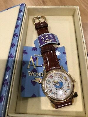 Vintage Alice and Wonderland 45th Anniversary Watch