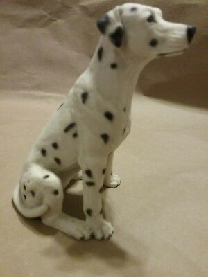 Castagna Sitting Dalmatians Dalmations Made in Italy 1988