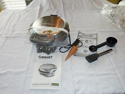 Cuisinart International Chef Crepe/Pizzelle/Pancake Plus, CPP-200 Series