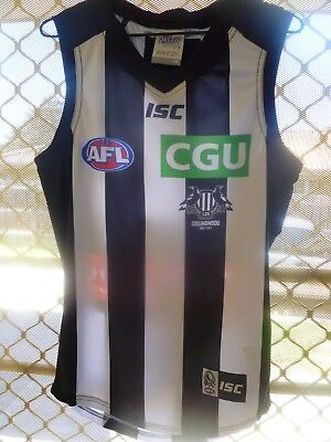 2017 player issue collingwood jumper