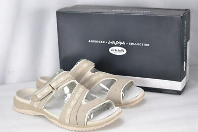 5fcf428f0f40 WOMEN S DR SCHOLL S Day Slide Sandals Taupe -  17.49
