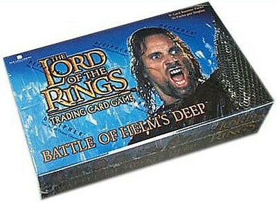 LORD OF THE RINGS TCG - Battle of Helm's Deep Booster Card Box (Sealed) #NEW