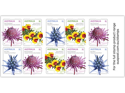 100x $1 Brand New MUH Australia Post Domestic Postage Stamps Total Value $100