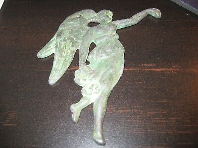 Rare Ancient Bronze Plaque of a Greek Goddess