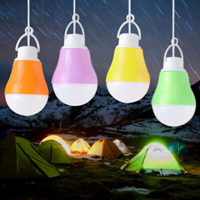 USB Bulb 5V 5W LED Light Energy Saving Rechargeable Emergency Lamps for Camping