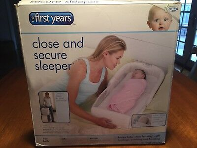 First Years Close and Secure Sleeper for Baby/Newborn/Infant Compact/Foldable
