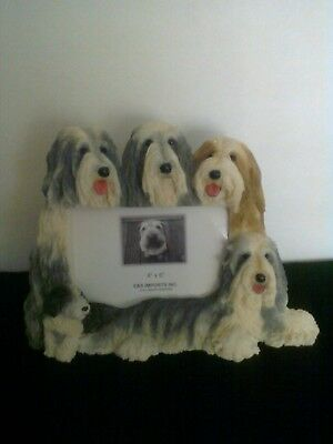 Bearded Collie Beardie 4 x 6 Picture Frame Clearance