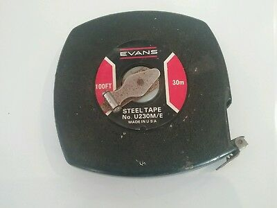 100 ft - 30 mt Evans tape measure