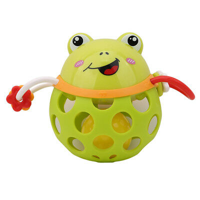 Little Soft Can Bite Rattle Baby Hand Grip Ball Animal Toy 0-3 Year Jian