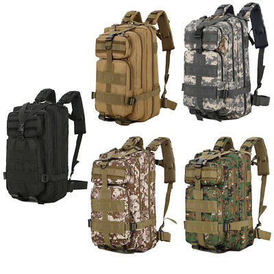 30L Outdoor Military Tactical Marching Shoulders Pack Water Resistant Backpack