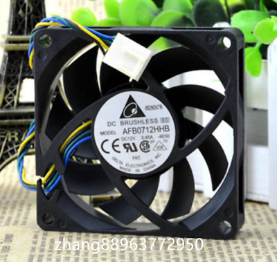 For 1pcDELTA AFB0512HHB12V DC Brushless CPU Fa 5050xx15mm 50mm 5015 3wire dc fan