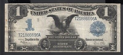 United States of America 1 Dollars 1899  F-VF P. 338  Banknote, Circulated