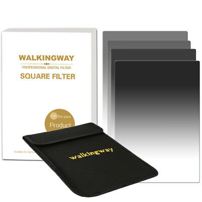 150*100mm Square Graduated ND2 4 8 16 Neutral Density  filter kit for Cokin Z