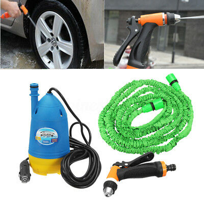 12V 4.5L High Pressure Car Washer Tool Electric Water Cleaner Wash Pump Kit new