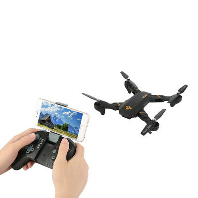 XS809W 2.4GHz 6-axis Gyro Pocket Selfie Foldable Drone RC Drone Quadcopt BC2