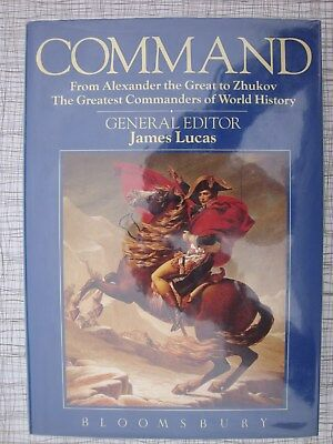 Command (Alexander The Great, Zhukov, Wellington, Wolfe, Allenby, Wingate, Foch)