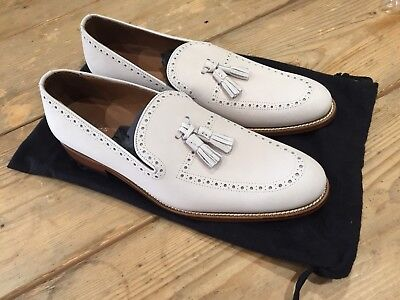 71173db7024 REISS Anstice Chalk Loafer £159 NEW BNWOB UK10