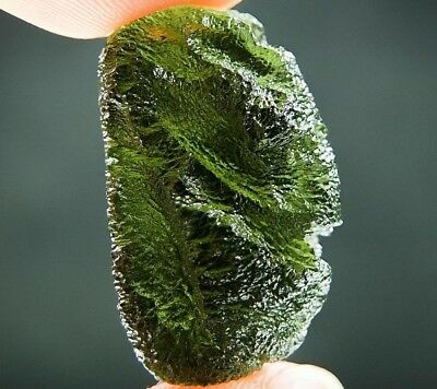 5% DISCOUNT - Shiny Real Moldavite quality A+ CERTIFIED