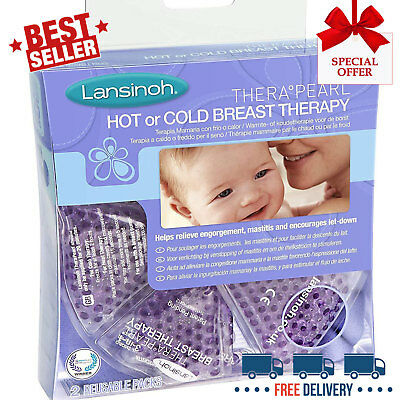 Lansinoh Therapearl 3in1 Breast Therapy Soothing Effective Breastfeeding Support