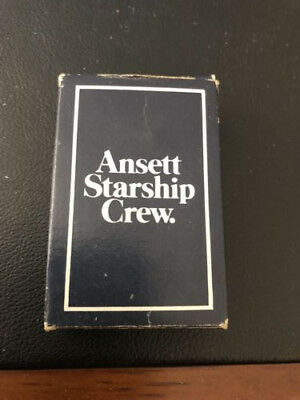 Ansett Starship Crew Complete Set Playing Cards Mint Vintage Rare 2 Jokers Great