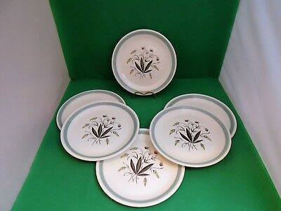 Alfred Meakin Crown Goldendale Hedgerow Small Dinner Plates x 6