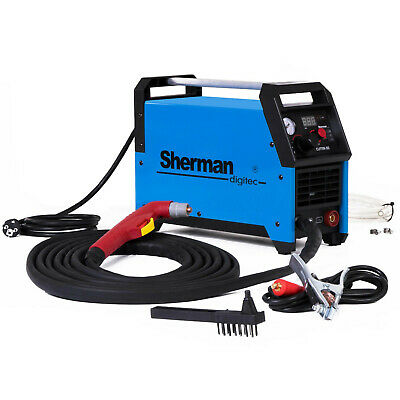 PLASMA CUTTER Sherman 50 Cutting up to 12mm 45A 230V Light Portable Circle guide