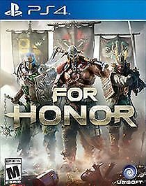 For Honor (Sony PlayStation 4,2017) NEW FACTORY SEALED FAST SHIPPING UBISOFT PS4