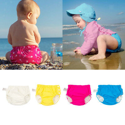 Reusable Swim Nappy Baby Cover Diaper Pants Nappies Swimmers Toddle