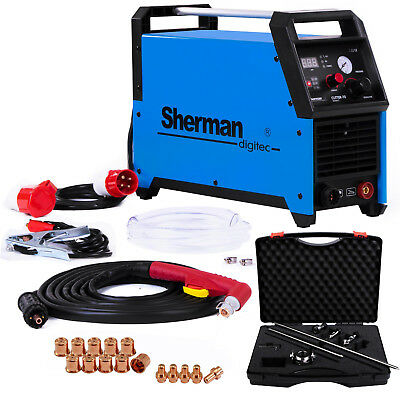 PLASMA CUTTER Sherman 70 Cutting up to 23mm 65A 400V Light Portable Circle guide